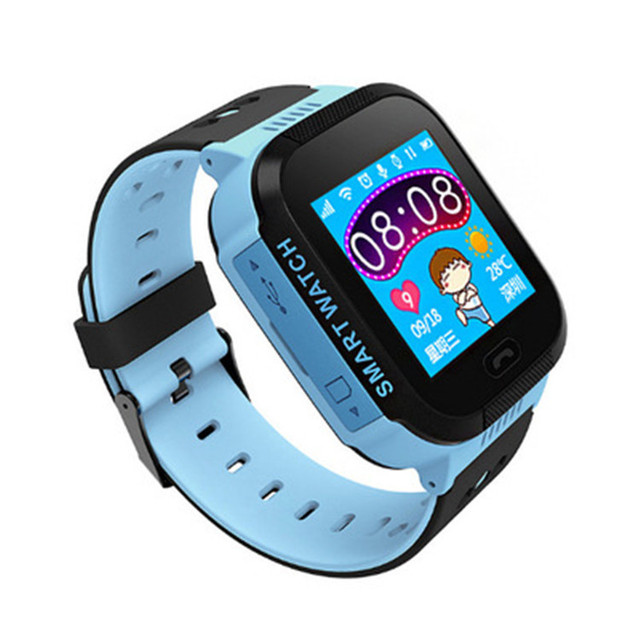 STRYVE T09 GPS Smart Watch With Camera Flashlight Kids Watch SOS Call Location Track Children's Safety Fence Alarm Digital Clock