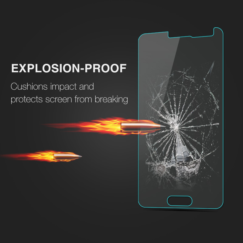 Image 4 - 0.26mm Screen Protector Explosion Proof On Phone 2.5D Tempered Glass Film For Samsung GALAXY Alpha G850 G850F G8508 G8508S G8509-in Phone Screen Protectors from Cellphones & Telecommunications