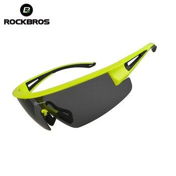 844e61826a RockBros los polarizado gafas de sol de bicicletas gafas de hombre mujer bicicleta  deporte Glasse ultraligero UV400 gafas de sol para ciclismo montar de ...