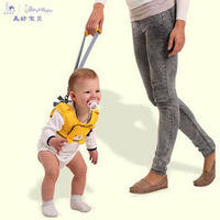 Bestbaby Baby Cartoon Breathable Vest Harness Toddler Anti Lost Belt Child Safety Learning Walking Assistant Bibi