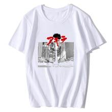 5de6706371d2b1 AKIRA KANEDA JAPANESE RETRO Design Funny T Shirt for Men Summer Fashion  Mens Breathable Graphic Premium T-Shirt Men's Streewear