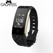 GAGAFEEL Bluetooth Smart Uhren Frauen Männer Sport Smart Handgelenk für Android IOS Telefon Pulsmesser Smart Uhr