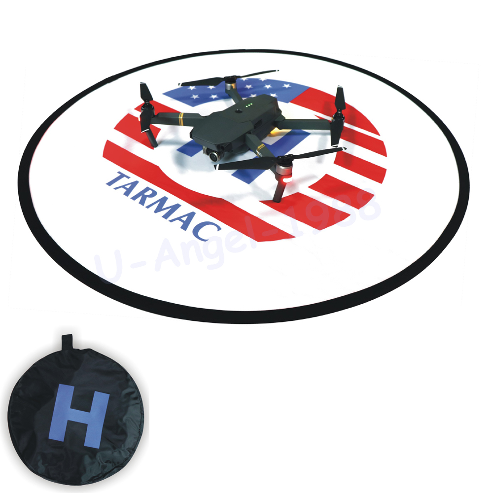 D80cm Fast-fold landing pad helipad Dronepad For RC Drone Quadcopter Helicopter & Phantom 4 3 2 inspire 1 Mavic Pro Accessories