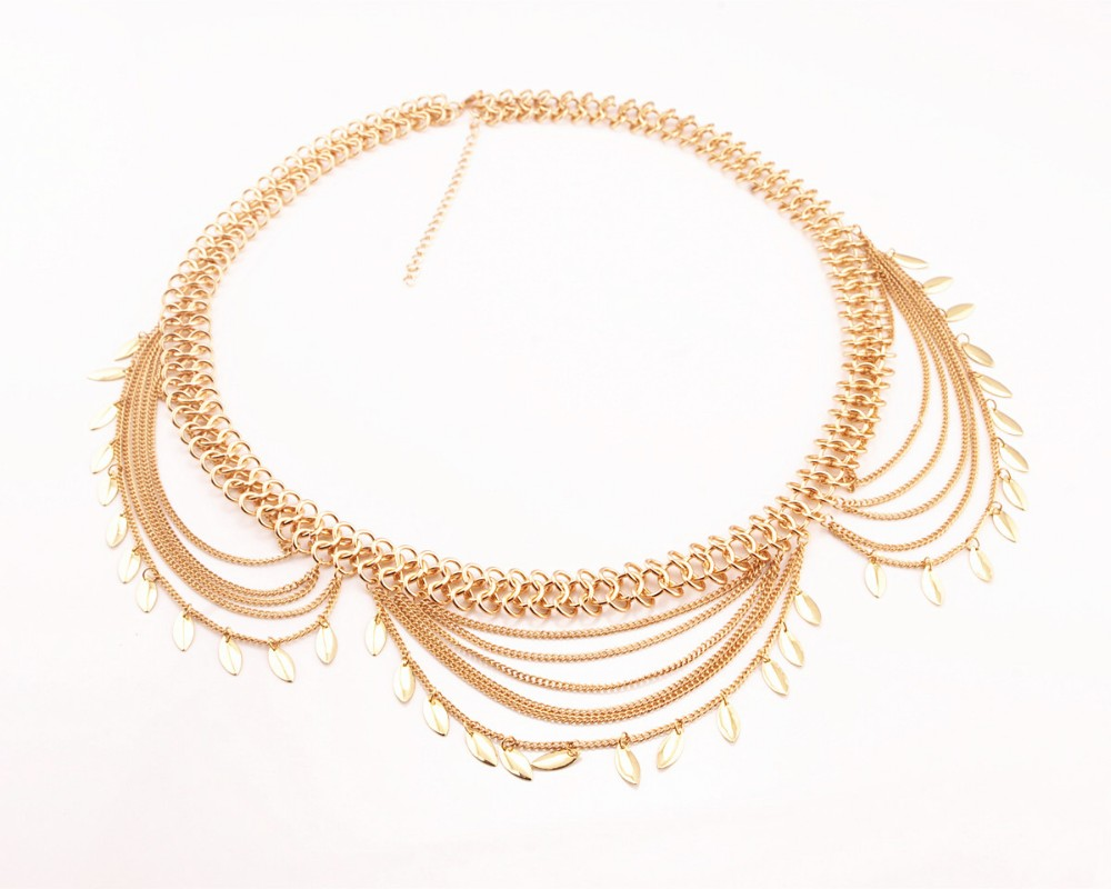 HTB19qimJFXXXXbmXXXXq6xXFXXX1 Golden Turkish Gypsy Belly Dancing Leaf Tassel Belly Chain For Women
