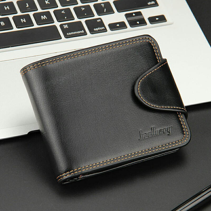 New Fashion Wallet Men Purse Mens Wallets Short Coin Clutch Male Purse Male Card Holder Multi-card bit Purses Clip High Quality