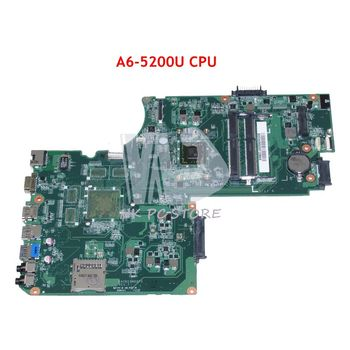 NOKOTION DA0BD9MB8F0 A000243950 MAIN BOARD For Toshiba Satellite C75D L75D Laptop Motherboard A6-5200 CPU DDR3