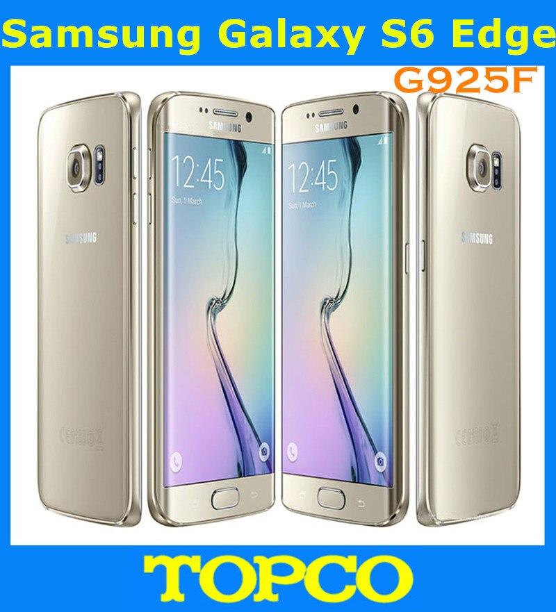 "Цена за Samsung galaxy s6 g925f 3 gb ram 32 ГБ rom окта основные android мобильного телефона 16.0mp 5.1 ""WIFI GPS Сотовый телефон Freeshipping"