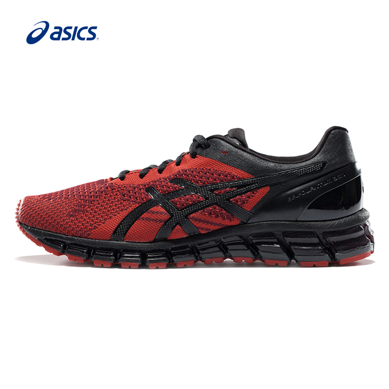 Original ASICS Men Shoes Wear-resisting Cushioning Running Shoes Light Weight Encapsulated Sports Shoes Sneakers free shipping 2 up tour pak mounting luggage rack for harley touring flhr flht flhx fltr 14 16