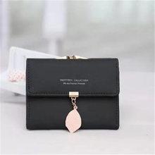 New brand fashion cartoon wallet designed tassel short women zipper female purse card holder Carteira