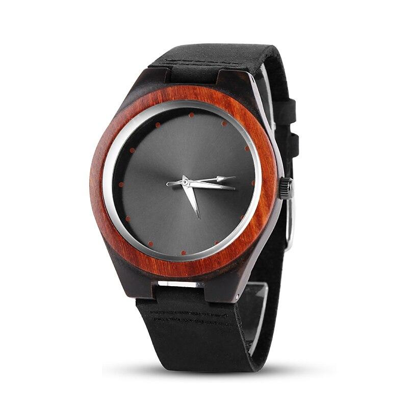 Mens Montres Haut Marque De Luxe Bois Montre Hommes Montre-Bracelet De Mode En Bois Hommes de Montre Horloge relogio masculino relojes para hombre