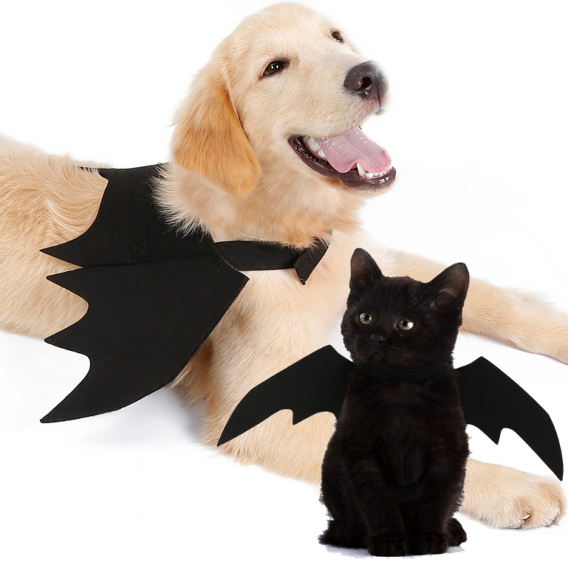 Pet Bat Wings Cat Costume Funny Cats Cosplay Fit Party Dogs Playing Products Gorro Ca