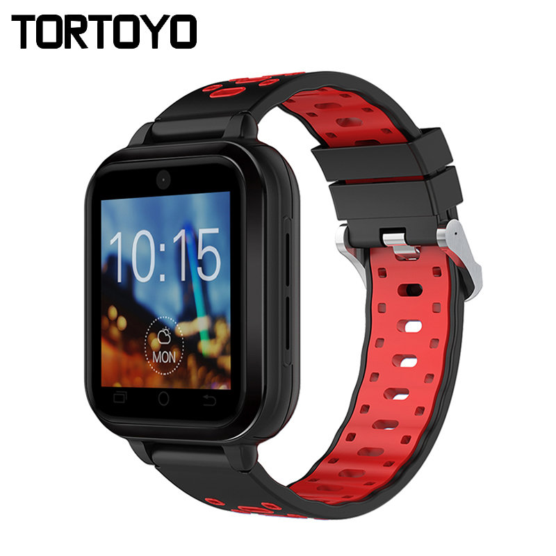 TORTOYO Q1 Pro 4G Smart Watch Phone Android 6.0 MTK6737 Quad Core GPS 1/8GB Smartwatch Heart Rate Sim Card Support Change Strap