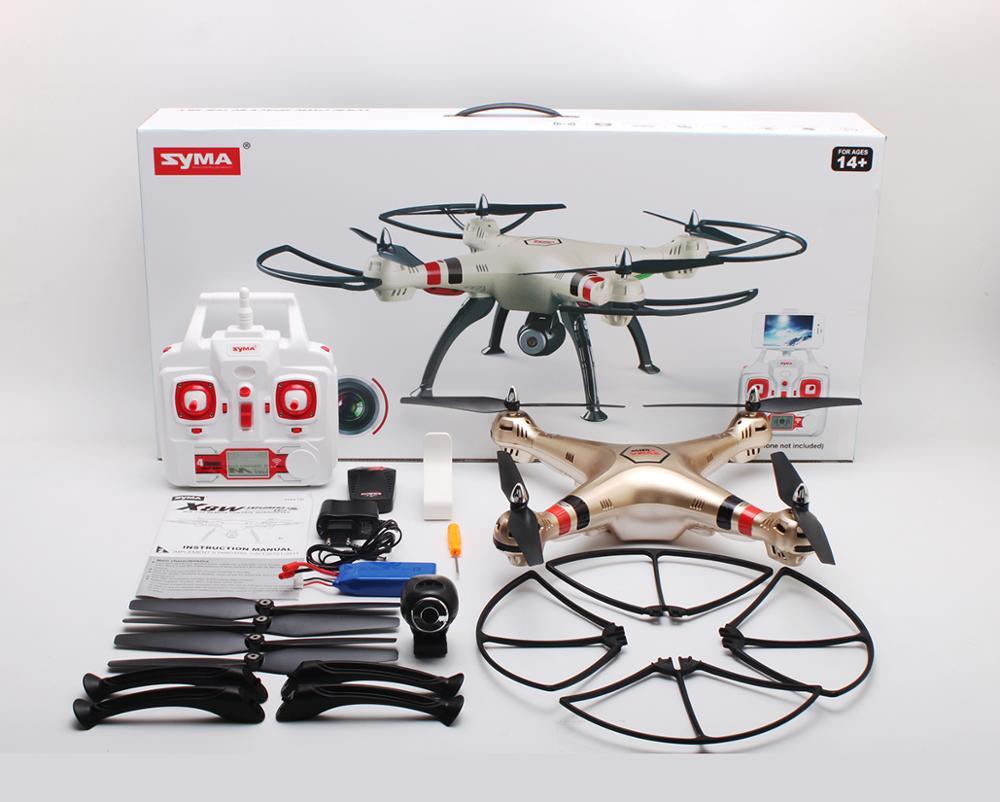 SYMA X8HW X8W Upgrade FPV font b RC b font Quadcopter Drone with WIFI Camera 2