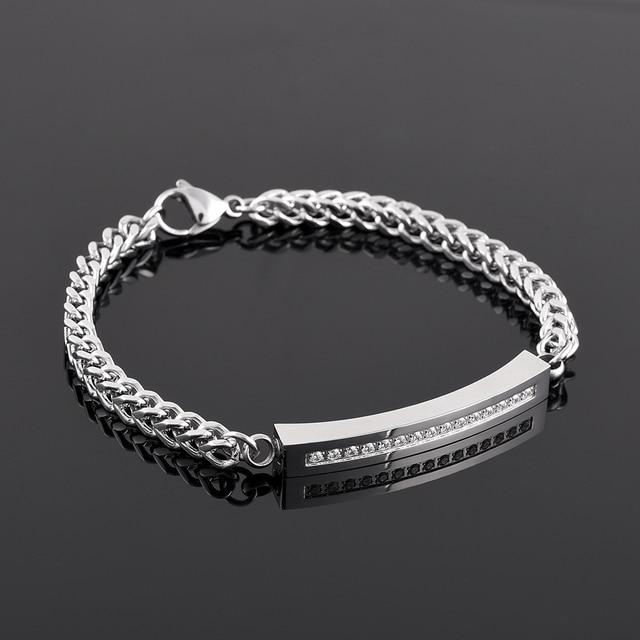 Cmj5027 5pcs 316l Stainless Steel Fadeless And Hypoallergic Women Men Memorial Urn Bracelets Ashes Bracelet Keepsake