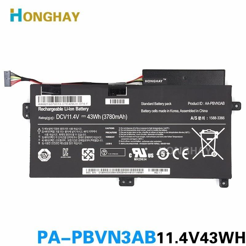 HONGHAY AA-PBVN3AB Laptop Battery For SAMSUNG NP370R4E NP370R5E Np450r5e Np470 Np510 NP370R4E-A03 NP370R5E-S04