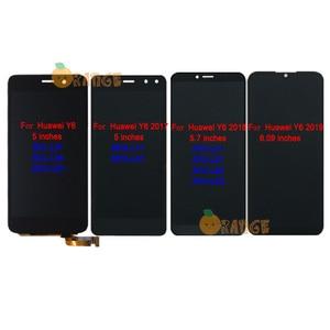 Image 1 - Neue LCD Display Sensor Für Huawei Y6 SCL L01/ Y6 2017 MYA L11/ Y6 2018 ATU L11 ATU L21/ Y6 2019 touchscreen Digitizer Montage