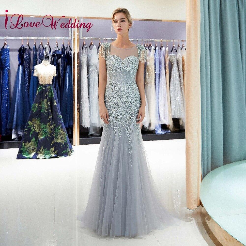 Most Beautiful Short Wedding Dresses: ILoveWedding Most Beautiful 2018 Heavy Beadings Silver