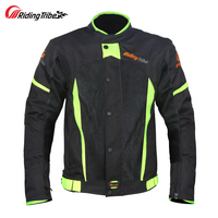 Riding Tribe Summer Motorcycle Jacket Reflective Motocross Off Road Racing Clothes Moto Coat With Protective Gear Armor JK 37