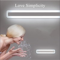 LED vanity mirror lights Bathroom Mirror hollywood mirror light 0.4M~1.2M wall lamp waterproof light switch bathroom led makeup