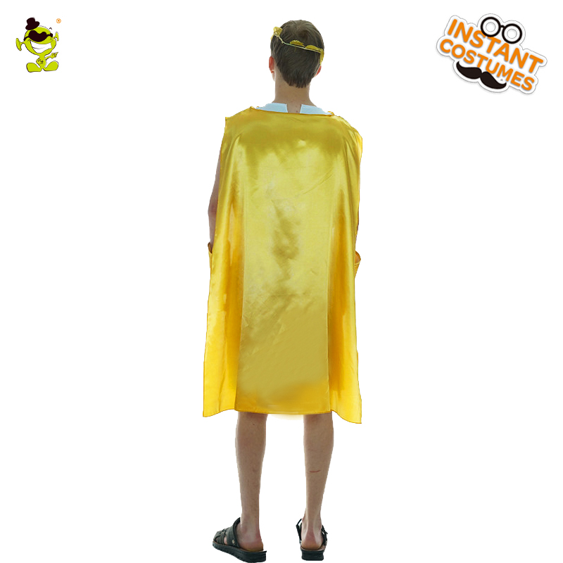 Mens Greek Roman Cosplay Costume Grecian God Costumes Adult God