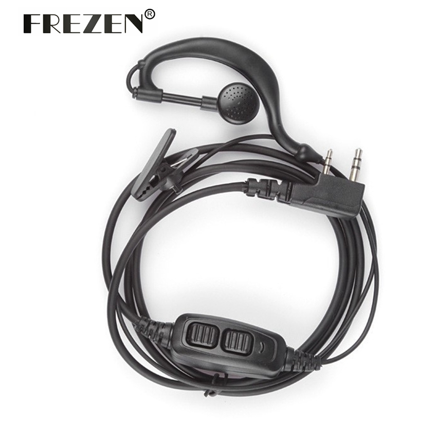 Accessories Dual PTT Headset Earpiece With Mic For Baofeng UV-82 UV 82 UV82L UV-89