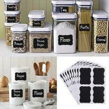 Наклейки. jam jar необычные этикетки доске черная доска кухня х см