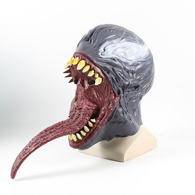 The Venom Superhero Marvel Cosplay Helmet Mask