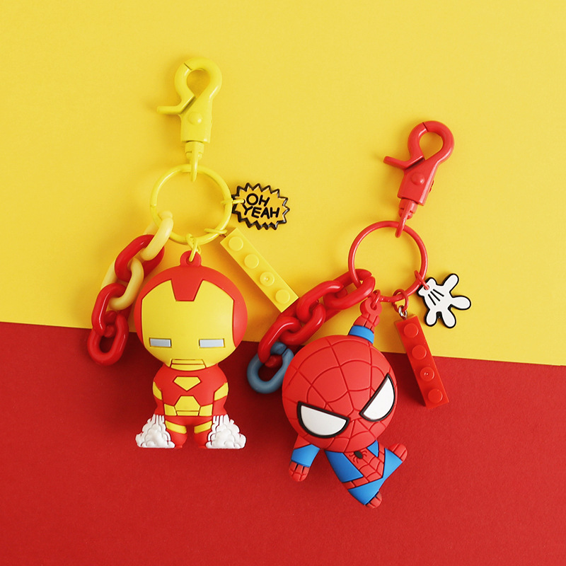 Jewelry Sets & More Smart Marvel Avengers Infinity War Keychains Iron Man Iron Spider Hulkbuster Thanos Doctor Strange Captain America Figures Toys Dolls Moderate Cost