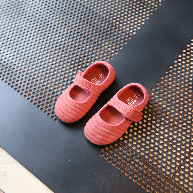 2017 spring new Fashion Non-slip matte han edition shoes of the girls child kids Flat toddler shoes Girl's Shoes