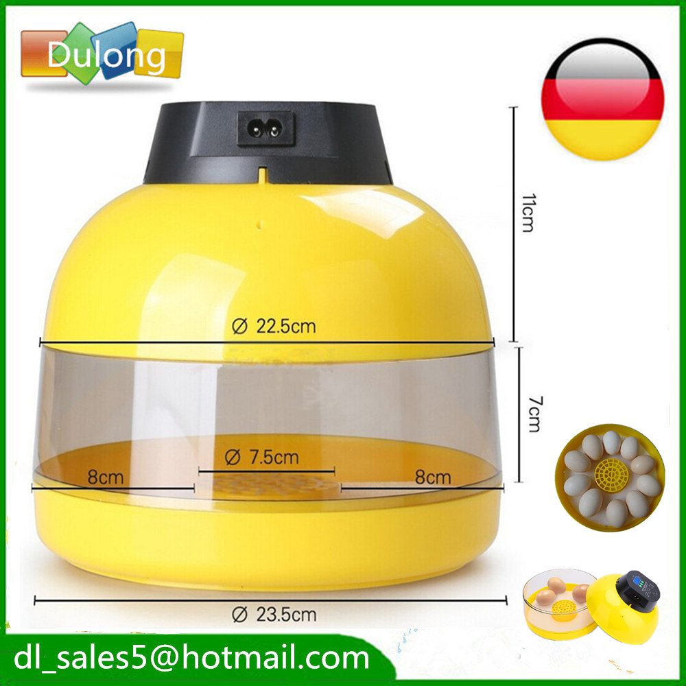 stock UK ,AU ,Germany 10 Eggs manual Poultry Mini Incubator Bird Pet Hatcher Chicken Hatcher Machine for sale