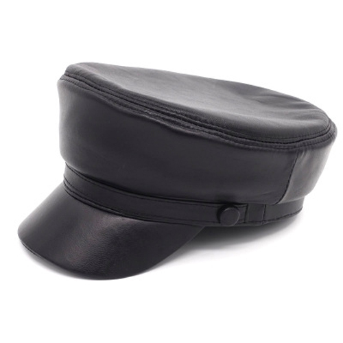 Lady Real Leather Cap...