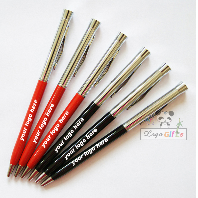 Gentil New Arrival Pen Spinning Can Be Customized Pen Great Quality Office Supplies  4 Color Pens You Can Chose