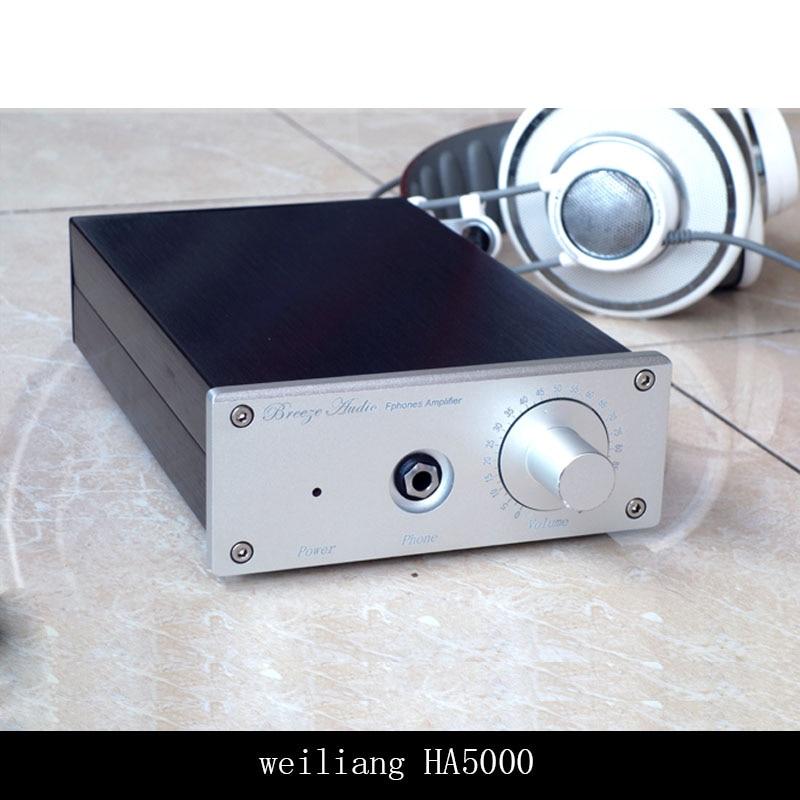 Breeze Audio HA5000 Headphone Amplifier 400mW/300ohm 1200mw/32ohm Load Range:16--600 ohms  Class A Amplifier no power supplyBreeze Audio HA5000 Headphone Amplifier 400mW/300ohm 1200mw/32ohm Load Range:16--600 ohms  Class A Amplifier no power supply