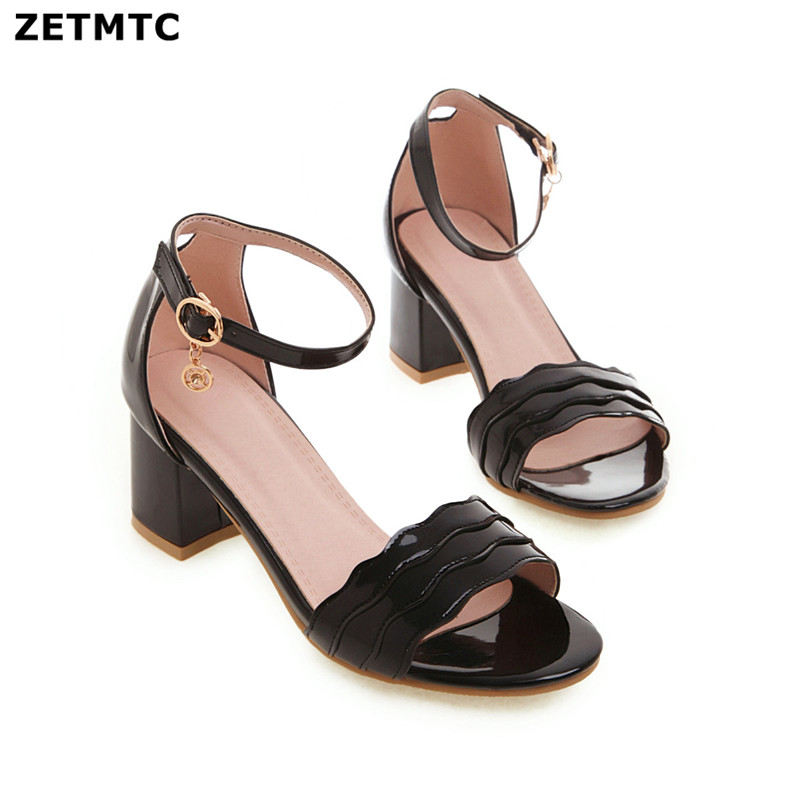 Woman Sandals New Summer Women Concise Platform Open Toe Casual Shoes Woman shoes Fashion Thick Bottom Wedges Sandals32-43
