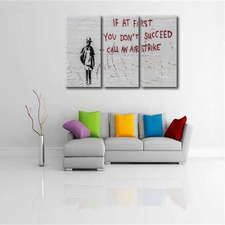3 Pieces/set Abstract poster series Canvas Painting living room Room Decoration Print Canvas Pictures Framed/Abstract (87)