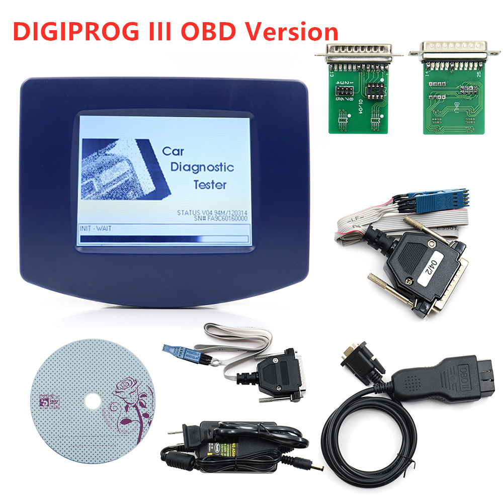 Digiprog 3 v4.94 OBD ST01 ST04 DIGIPROG III odomètre ajuster programmeur Digiprog3 kilométrage outil Correct ensemble complet DIGIPROG 3