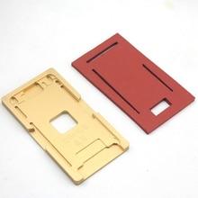 1 piece lcd laminating pad and 1 pieces Positioning Aluminium Metal Mold For iPhone 5/6/6P7/7/plus for iphone 8 OCA Laminator