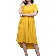 6340688603df4 ملابس حمل للنساء الحوامل س الرقبة الرسمي ملابس للحمل ل الصيف زائد حجم عارضة الحمل  الملابس