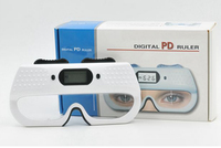Semplice Centrometer PD Ottica optometria Digital PD Ruler Pupilla Distanza Measrue