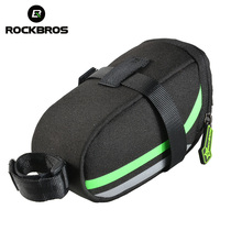 ROCKBROS f Nylon Bike Saddle Bag Tail MTB Outdoor Cycling Back Seat Bicycle Rear Rainproo Pouch Package Accessories