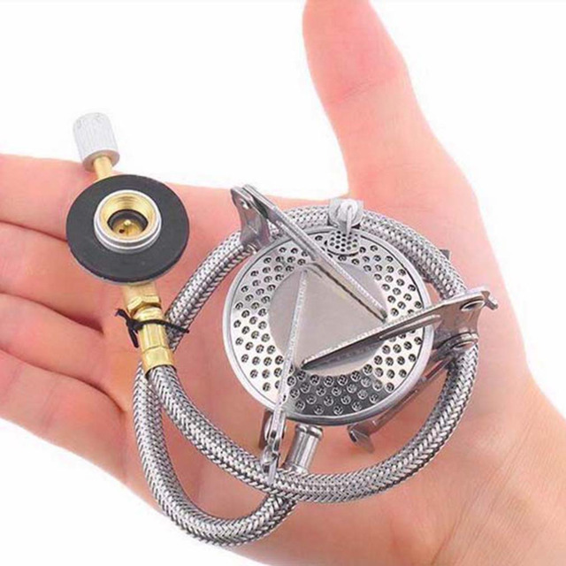 New Portable Foldable Practical Outdoor Camping Stove With Piezo Ignition free shipping