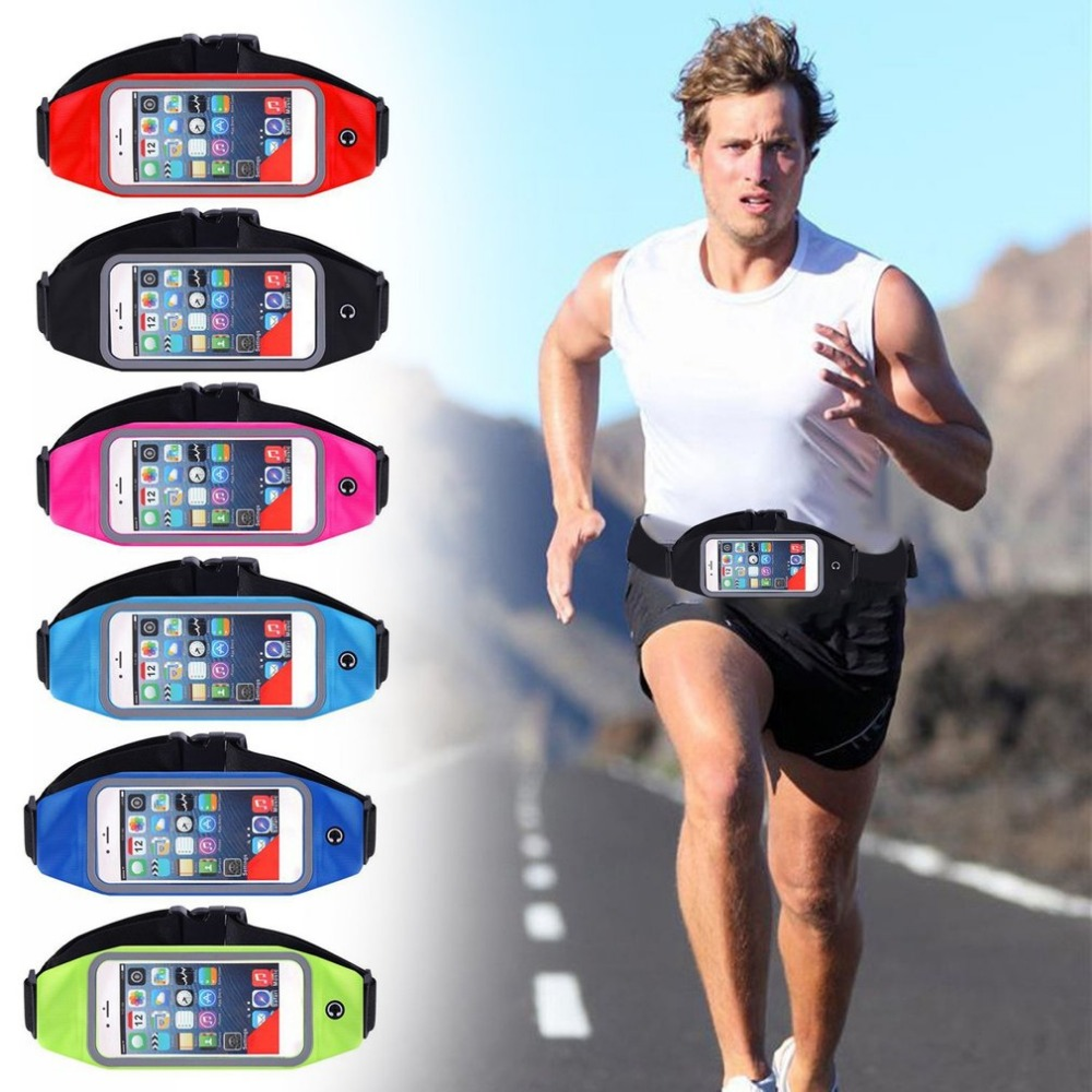 OUTAD Waterproof Waist Bag Touch Screen Mobile Phone Pouch Case Multifunction Outdoor Sport Running Jogging Bag for Man Women