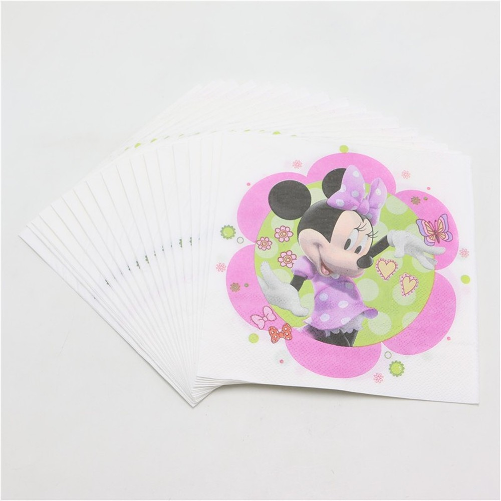 Online get cheap minnie mouse party supplies aliexpress for Baby minnie mouse party decoration