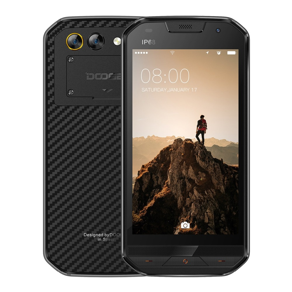 DOOGEE S30 IP68 étanche 8MP arrière double caméras téléphone Mobile 5580mAh 5.0