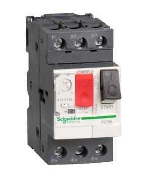 GV2-ME16 GV2ME16  Motor circuit breaker, TeSys GV2, 3P, 9-14 A, thermal magnetic, screw clamp terminals