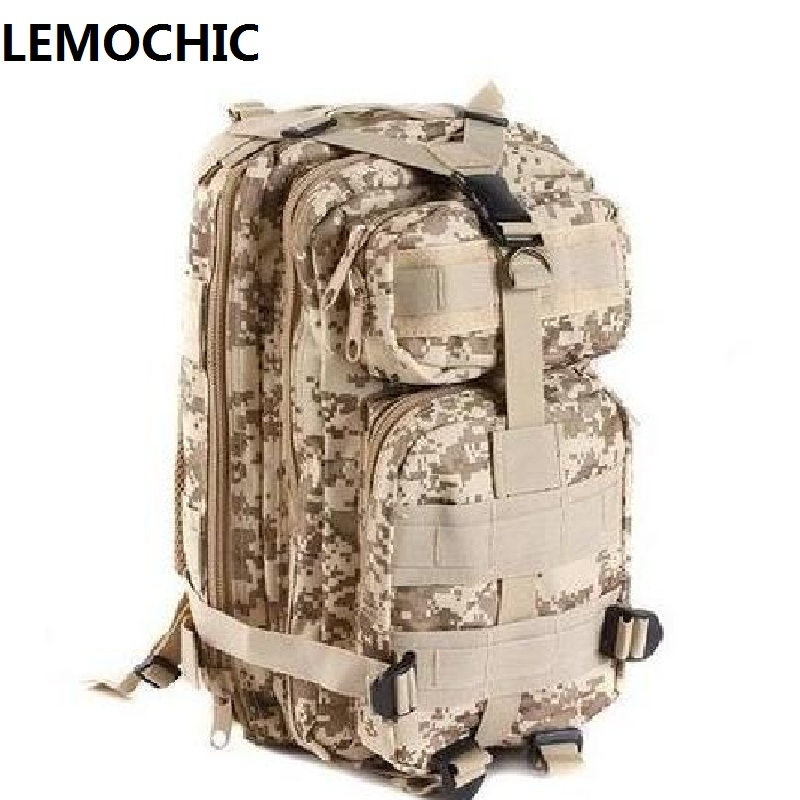 LEMOCHIC High outdoor canvas Trekking Daypack camouflage hike sports bag Cycling fishing hunting travel camping school backpack lemochic high quality sport mountaineer travel male bag waterproof canvas motorcycle climbing rucksack fishing hunting backpack