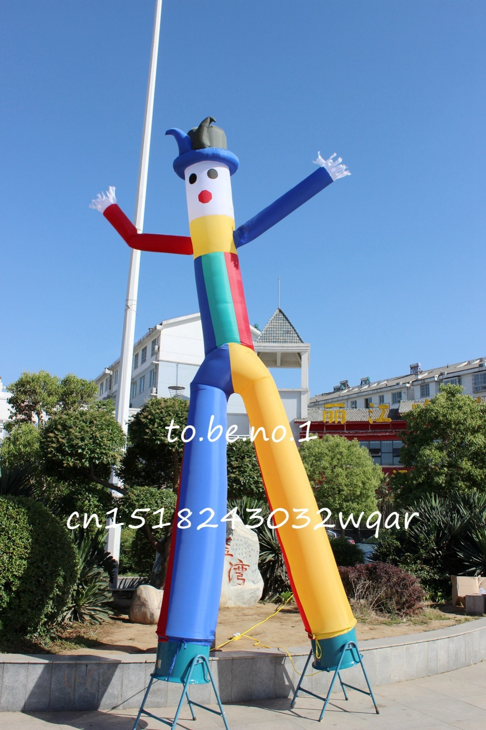 Inflatable Toys 6M 20FT Inflatable Tube Sky Dancer Air Dancer NO blower Inflatable Toys Shop ads sign S1001 цена и фото