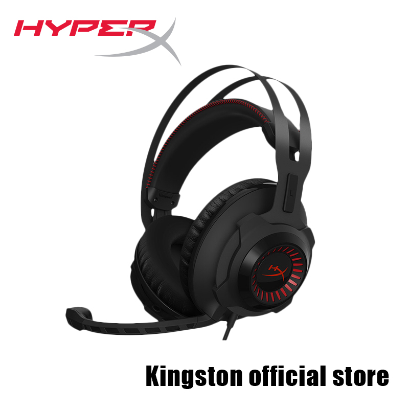 где купить Kingston Gaming Headset HyperX Cloud Revolver Black Headphones  With a microphone дешево