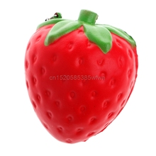 Jumbo Cute Strawberry Squishy Super Slow Rising Soft Kid Toy Stress Relieve Gift HC6U Drop shipping