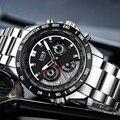 Reloj Hombre 2017 LIGE Marca Moda Casual Do Esporte dos homens Relógios Homens À Prova D' Água Relógio de Quartzo Homem Relógio militar Relogio masculino